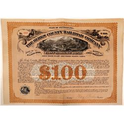 Berks County Rail Road Co, 1st Mortgage Bond, 1872  (111054)