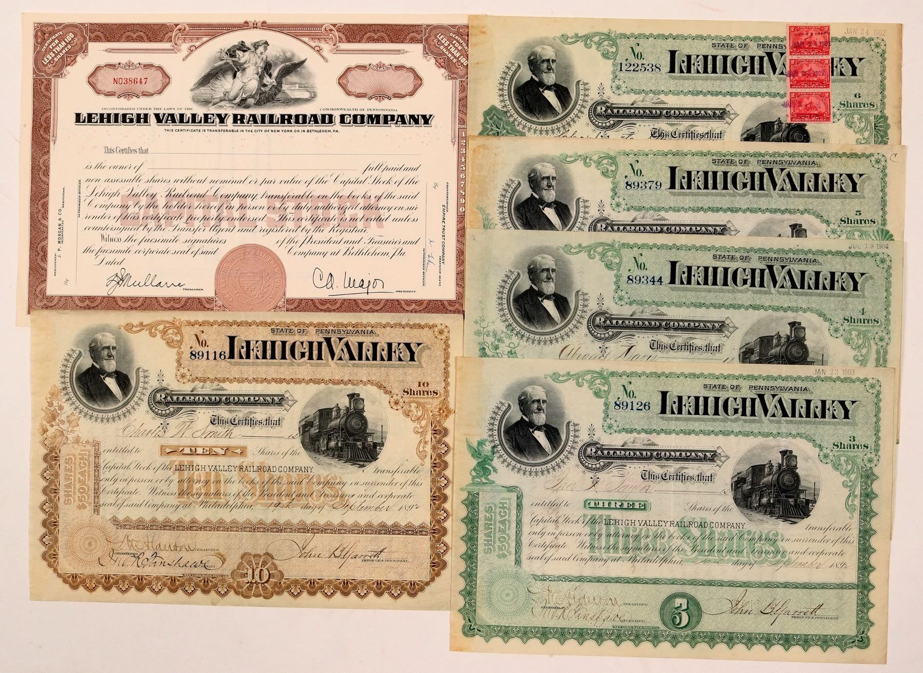110022_Lehigh Valley Railroad Co (110022) - Holabird Western Americana Collections