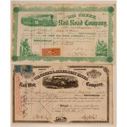 Oil Creek Railroad and Oil Creek & Allegheny River railway  (110000)