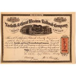 Norfolk & Great Western Railroad Co  (112250)