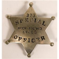 Rock Island Lines Railroad badge  (112758)