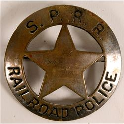 Southern Pacific Railroad Police badge  (112760)