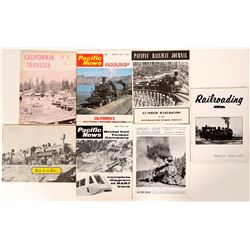 Logging Train Publications / Pacific Northwest / 7 Items.  (109707)