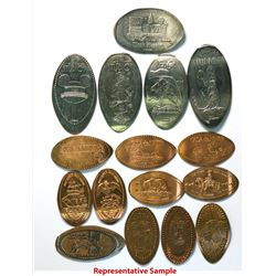 Elongated coins various amusement parks, special event   (112473)