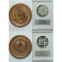 Texas Centennial Exposition 1936 lucky penny   (112388)