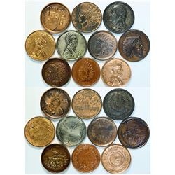 Souvenir Giant Penny Collection  (112789)