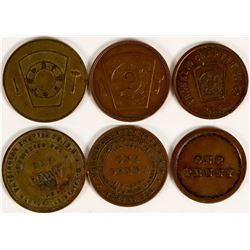 Central California Masonic Pennies  (112745)