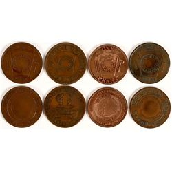 Central Coast Masonic Pennies  (112703)