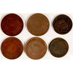 East Bay Masonic Pennies  (112746)