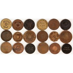 East Bay Masonic Penny Collection  (112704)