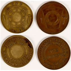 High Sierra Masonic Pennies  (112719)