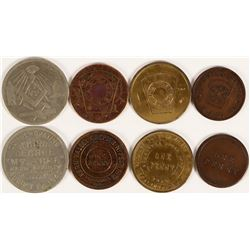 Kern Valley Masonic Pennies  (112744)