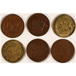 North Bay Area Masonic Pennies  (112749)