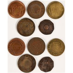 Orange County Masonic Pennies  (112713)