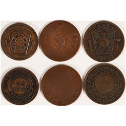 Peninsula Masonic Pennies  (112715)