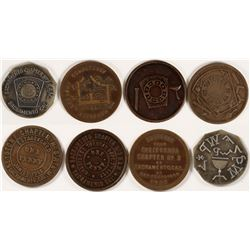 Sacramento Masonic Tokens  (112718)