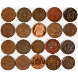San Francisco Masonic Penny Collection  (112717)