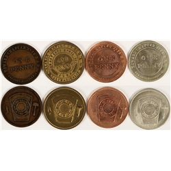 San Jose Area  Masonic Pennies  (112742)