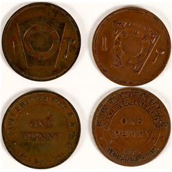 Solano County Masonic Pennies  (112701)