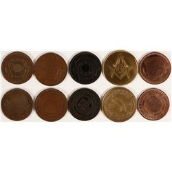 Stockton Area Masonic Pennies  (112716)