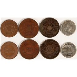 Yosemite Area Masonic Pennies  (112780)