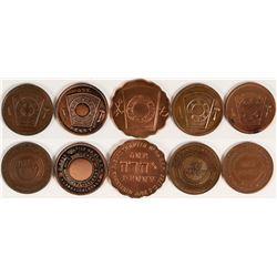 Western States Masonic Pennies  (112702)