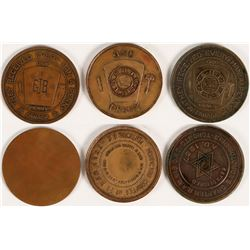 Canadian Masonic Pennies  (112710)