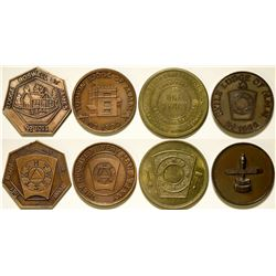 European Masonic Pennies  (112394)