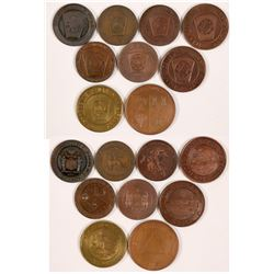Scottish Masonic Penny Collection  (112393)