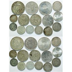 Foreign Silver Coin Collection  (112804)