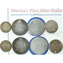 Early Coinage Including America's First Silver Dollar  (114314)
