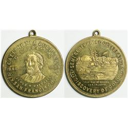 San Francisco Golden Jubilee Medal, So-Called Dollar companion to HK-642  (114078)