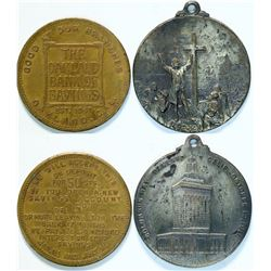 Oakland Columbus Day/ Bank Medals  (112797)