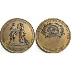 Warren & Son Agricultural Award Medal, Unengraved, 51.13mm  (114072)