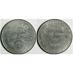 Cornell Watch Co. Medal  (114098)
