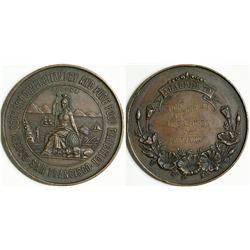 Culinary Award Medal for Chef Fourniguier  (114105)
