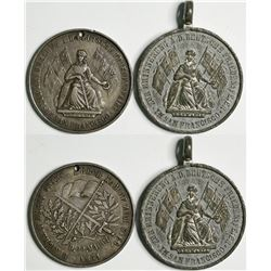 German Peace Celebration Medals (2)  (114096)