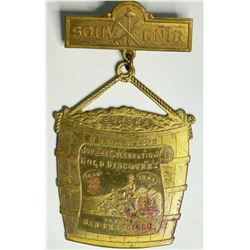San Francisco Golden Jubilee Medal, Bucket Badge  (114077)