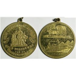 San Francisco Golden Jubilee Medal, Three Miners  (114102)