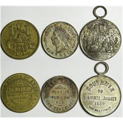 San Francisco Queen's Jubilee, Bastille Day, and Grange Souvenirs  (114109)