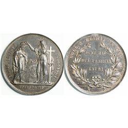 Santa Clara College Medal  (114113)