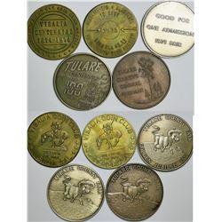 Visalia/Tulare Medals  (112736)