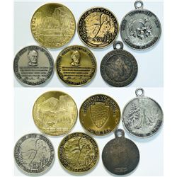 Yosemite & Sequoia National Park Medals  (112796)