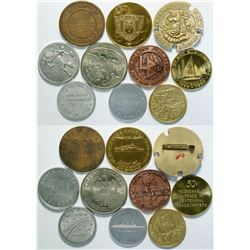 Southern California Coast Medal Collection  (112801)