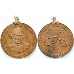 Thomas Wildey Commemorative IOOF Medal  (112385)