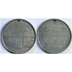 Brooklyn Bridge Souvenir Medal  (114126)