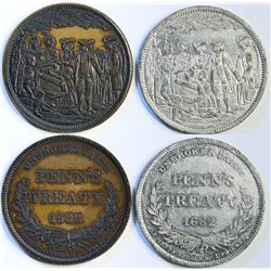 Robert Lovett, Jr. Penn Treaty Medals  (114129)