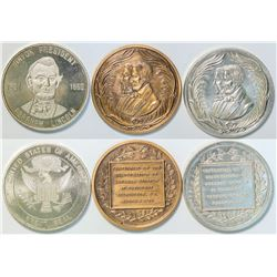 Abraham Lincoln Medals  (112924)