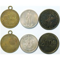 Boy Scouts Medals  (112902)