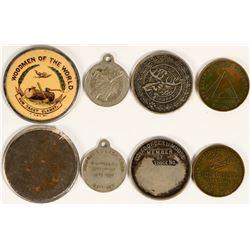 Fraternal Organization Medals  (109918)